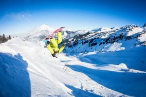 Jumping off piste