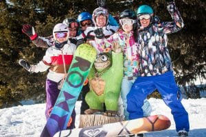 Roxy Girls Snowboard Camp