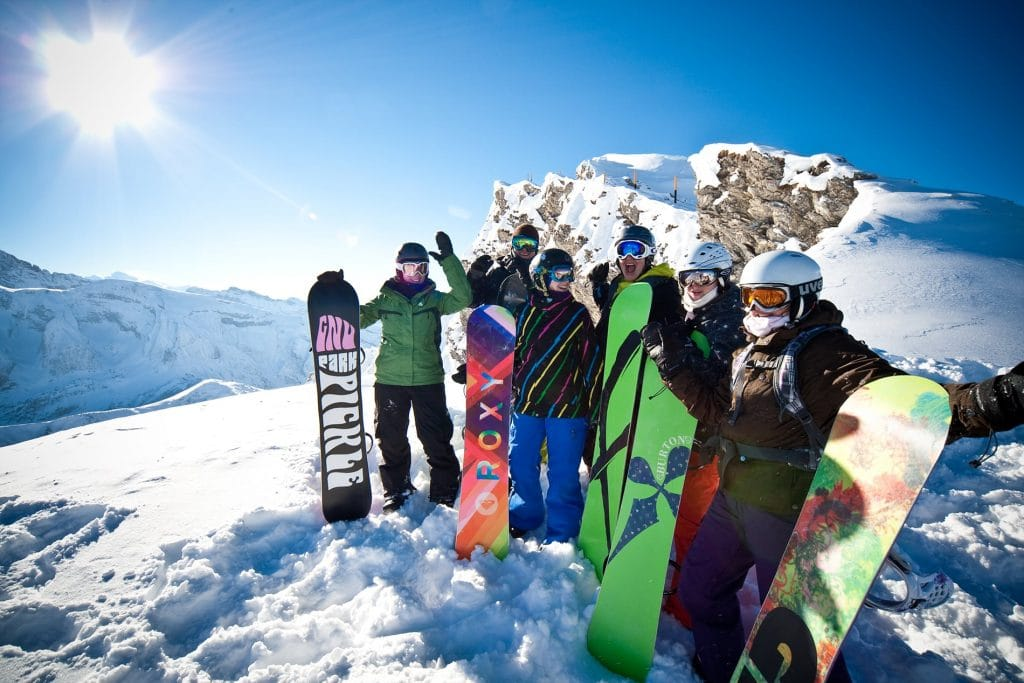 Mint Snowboarding