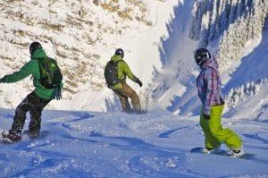 friends snowboard holidays