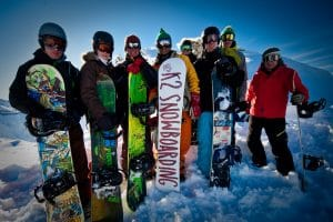 Technical Performance Snowboard Course