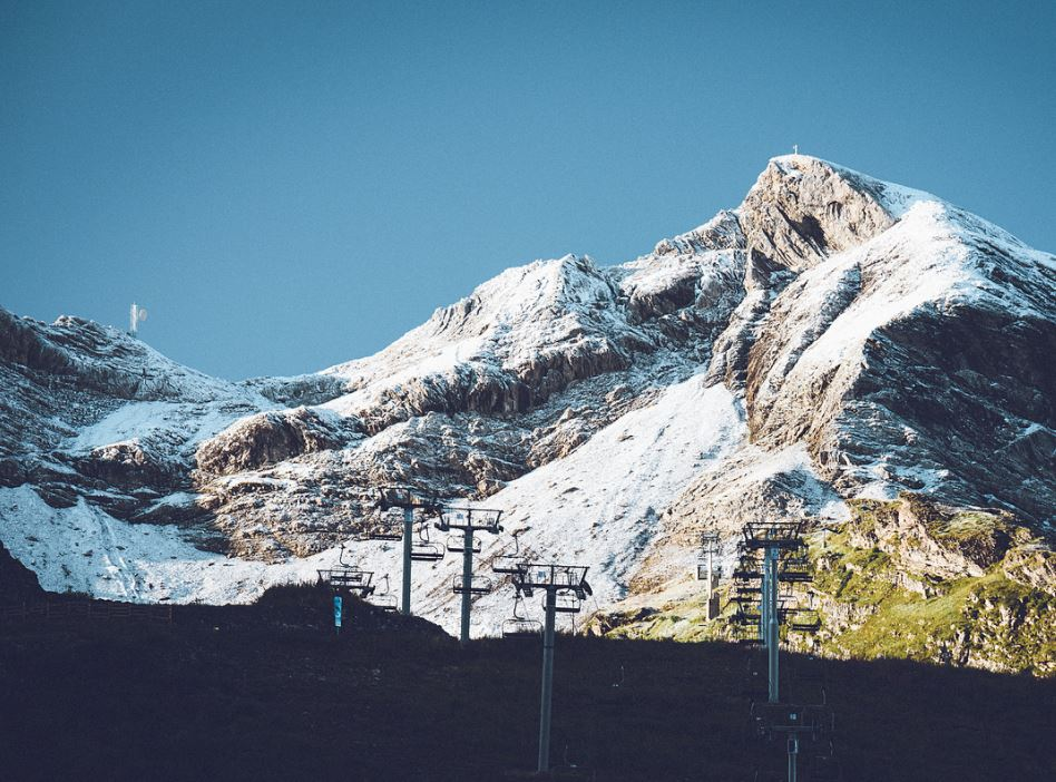 early Snow on the tops in Avoriaz