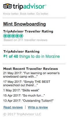 Mint TripAdvisor Reviews