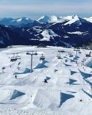 chapelle snowpark in avoriaz