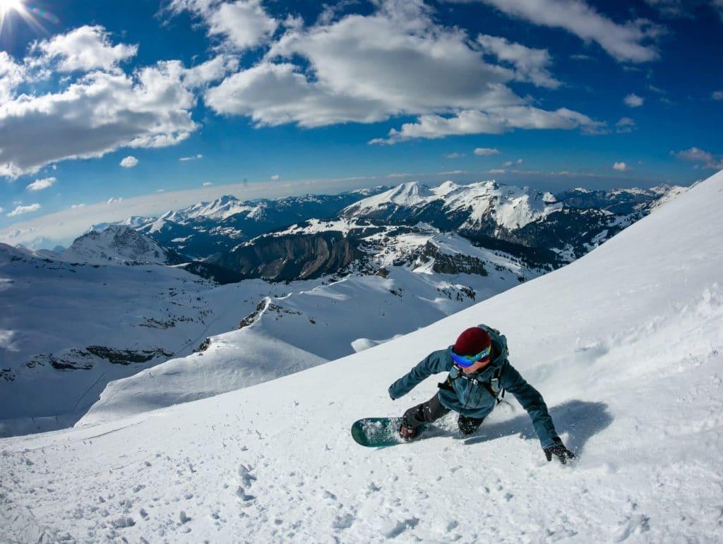 Backcountry Snowboarding Fun