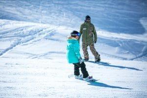 private snowboard lesson morzine
