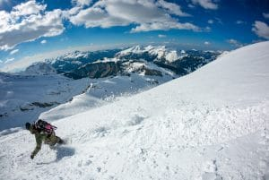 Spring Off Piste Riding In France