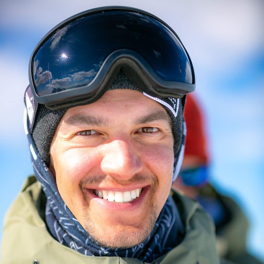 Valerio Antoniello the best Snowboard Instructor