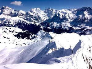 Pointe de Vorlaz ski route