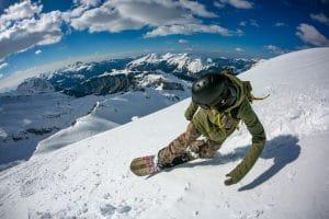 Pointe De Vorlaz ski Descent