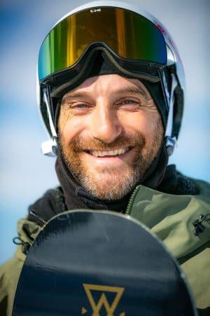 Toni Rodriguez Shoots Snowboarding