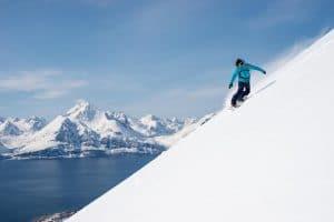 snowboard arctic norway