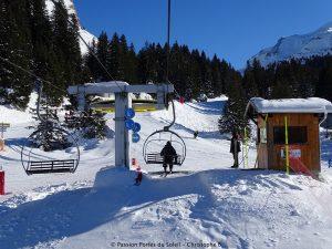 Chairlift Avoriaz Skiing
