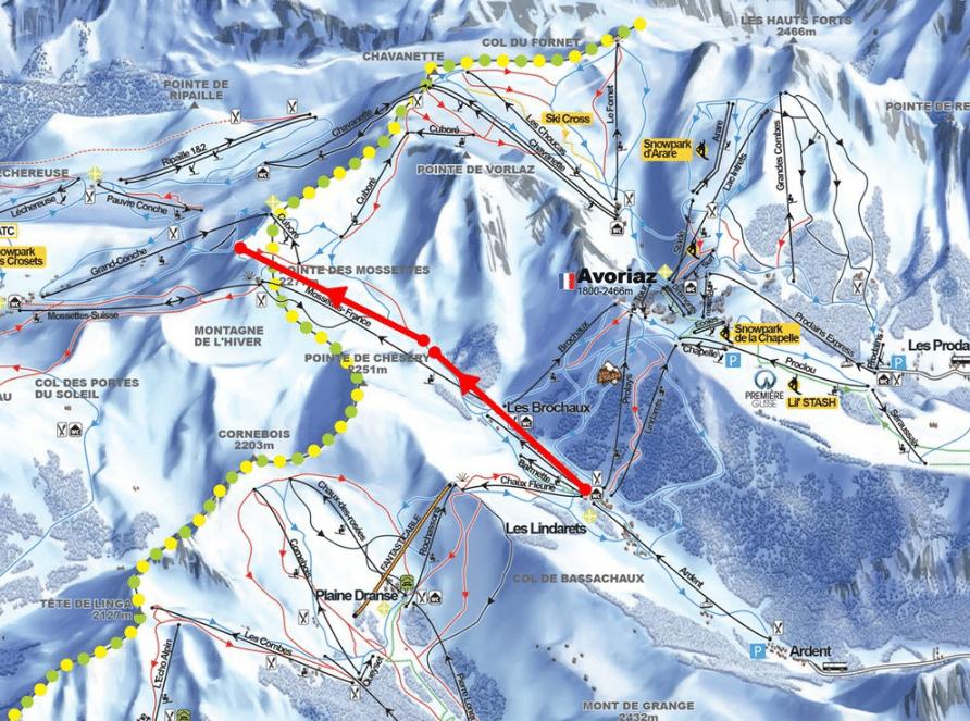 New Ski Lifts Avoriaz