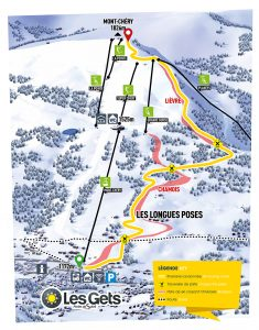 Ski Touring Piste Morzine