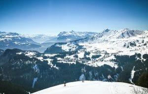 ski touring pointe d