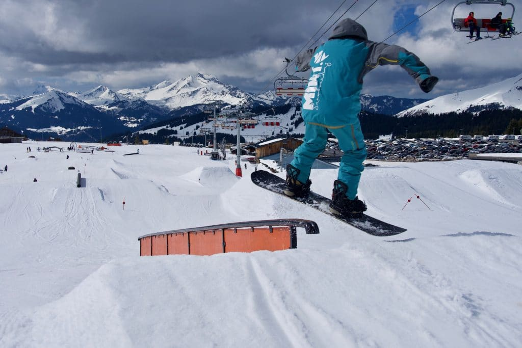 Freestyle Snowboard Lessons Avoriaz