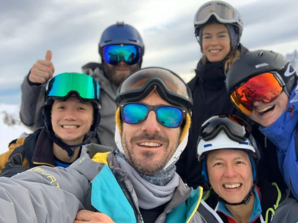 Group Snowboard Lessons Morzine