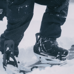 step on snowboard bindings