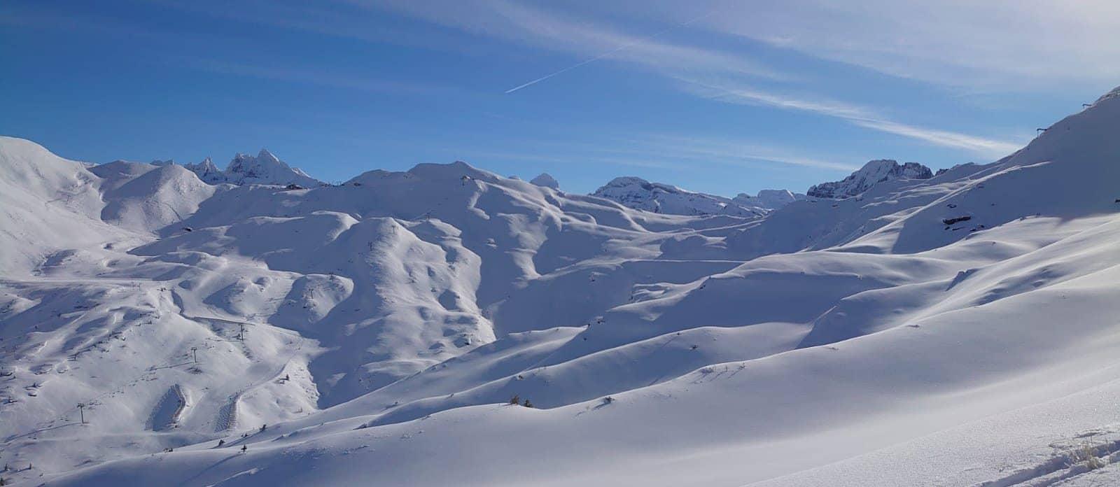 Covid ski season morzine