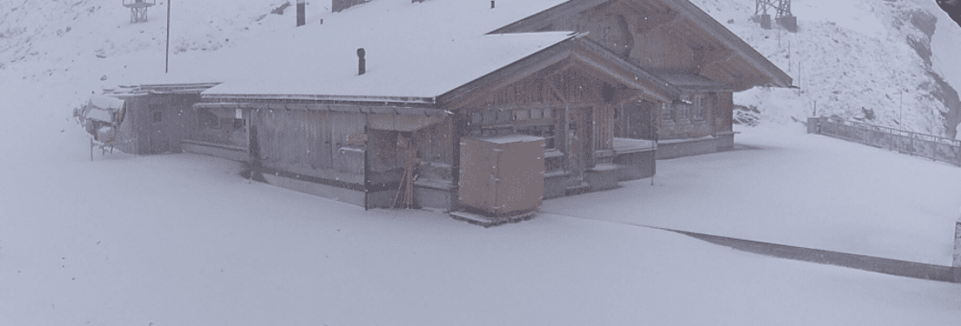 Engelberg snow ski staton