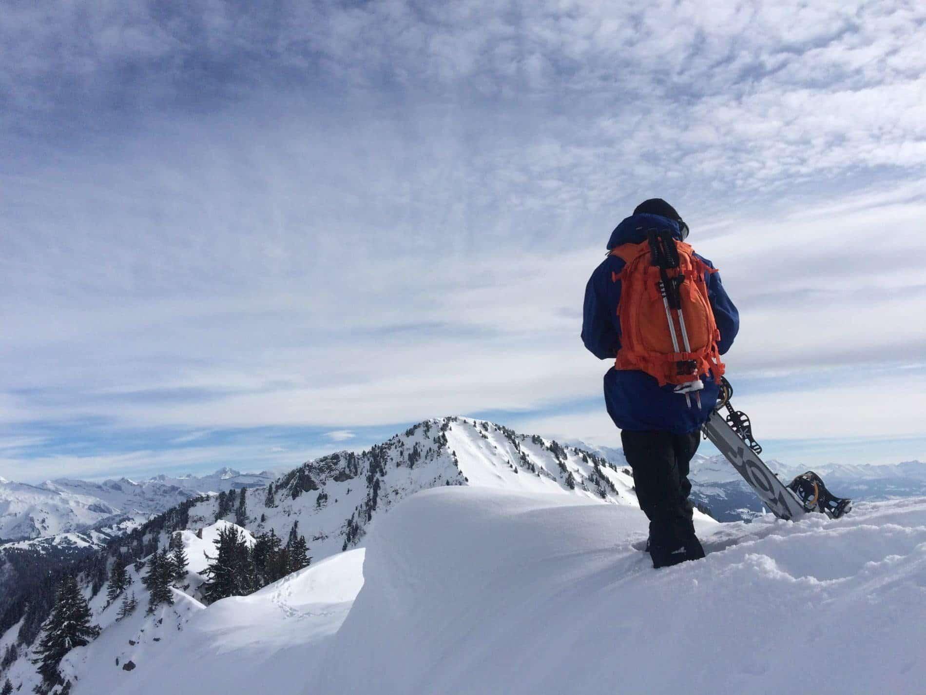 Off Piste Snowboarding Les Gets