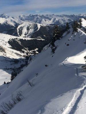 Ski Touring Pointe De Chalune
