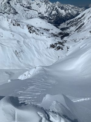 Couloir NW Mont Fourchon