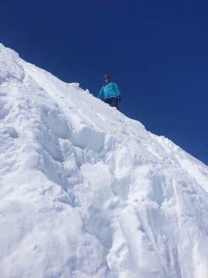 Mont Fourchon Summit
