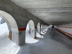 Tunnel Col Du Gd St Bernard