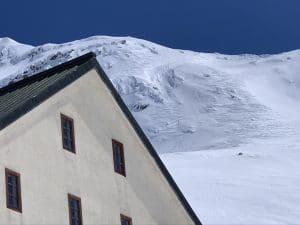 mountain refuge hut